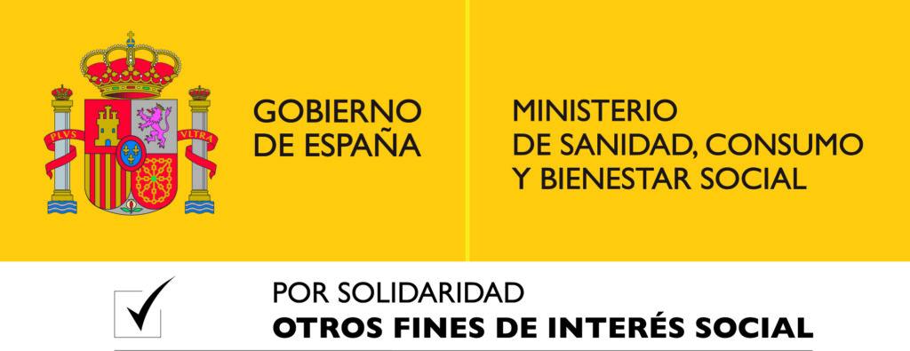 Logotipo Ministerio de Sanidad consumo y bienestar social